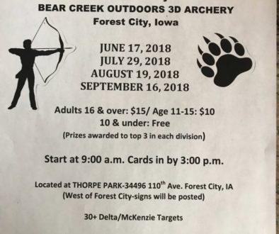 3D Archery Shoots 2018
